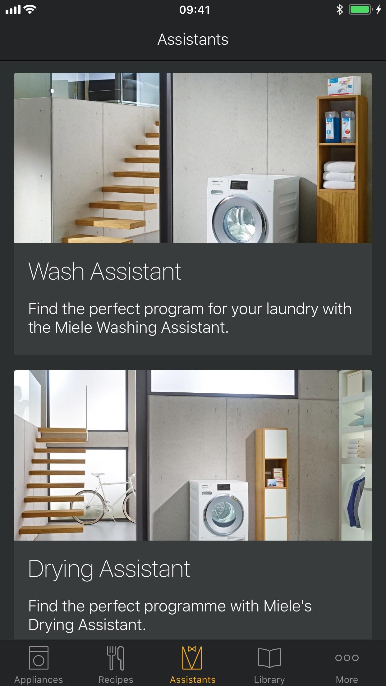 Miele@mobile Screenshot