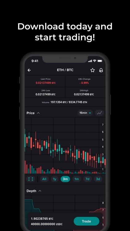 Poloniex Crypto Exchange screenshot-4