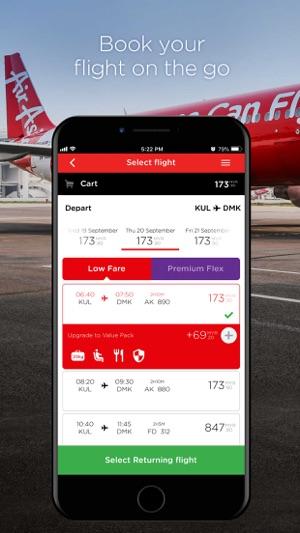 AirAsia im App Store