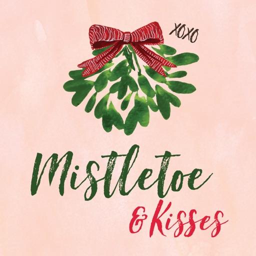 Mistletoe & Kisses Stickers