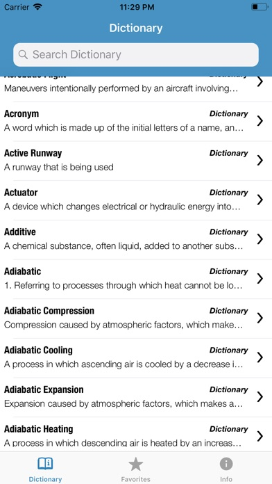 Screenshot for Pilot Dictionary in Denmark App Store