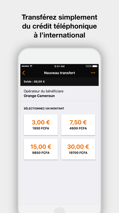 Orange Money France screenshot four