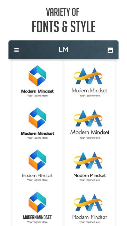 Logo Maker   Design Monogram screenshot-4