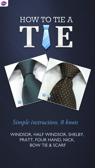 How to Tie a Tie !Screenshot of 1