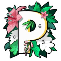 数字填色Paint.ly: 秘密花园涂色游戏