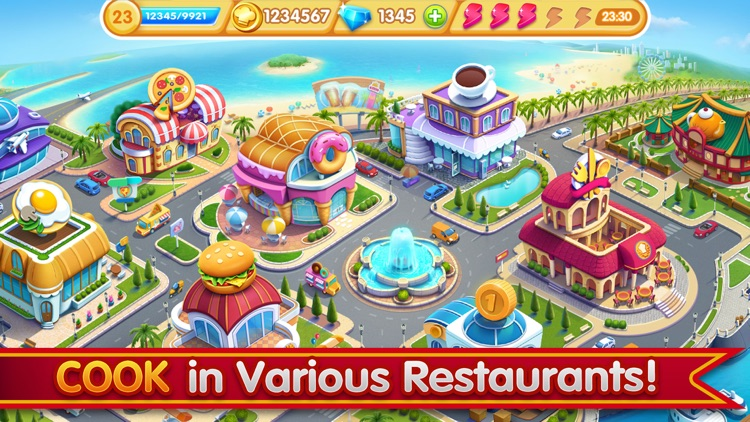Cooking City - Chef Game screenshot-5