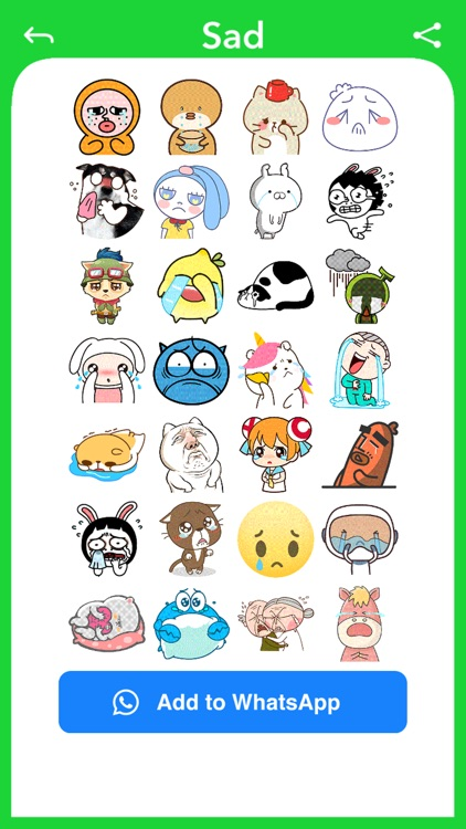 Funny Face - Photo Stickers screenshot-5