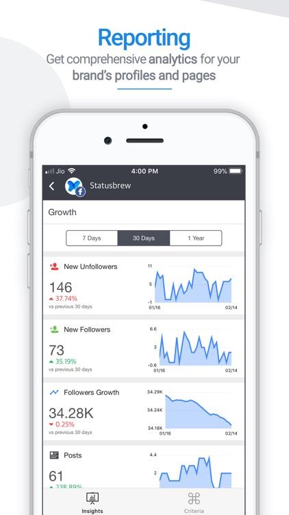 Statusbrew: Social Media Tools screenshot-3