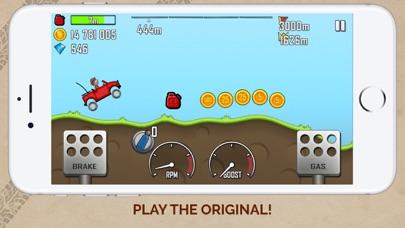 Screenshot from Hill Climb Racing