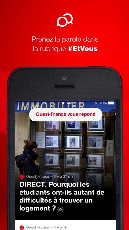 Ouest-France, l'info en direct screenshot-3