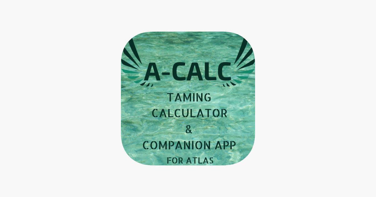 A-Calc Companion for Atlas MMO on the App Store