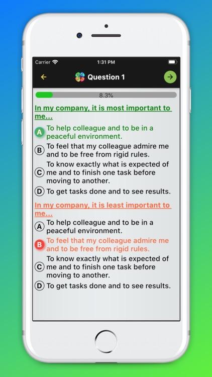DISC Test - Personality Test screenshot-5