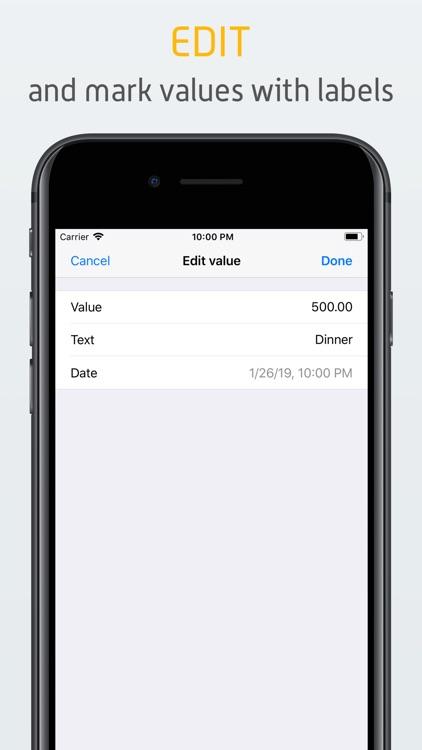 Counters - Quantify your life screenshot-3
