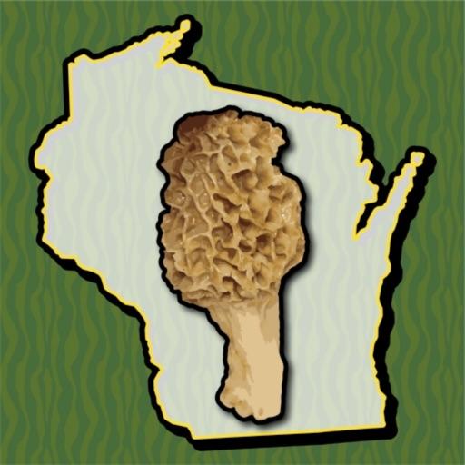 Wisconsin Mushroom Forager Map