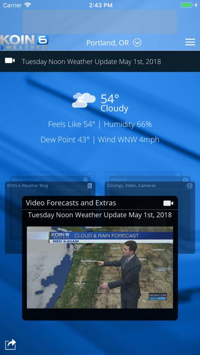 PDX Weather - KOIN Portland ORのおすすめ画像1