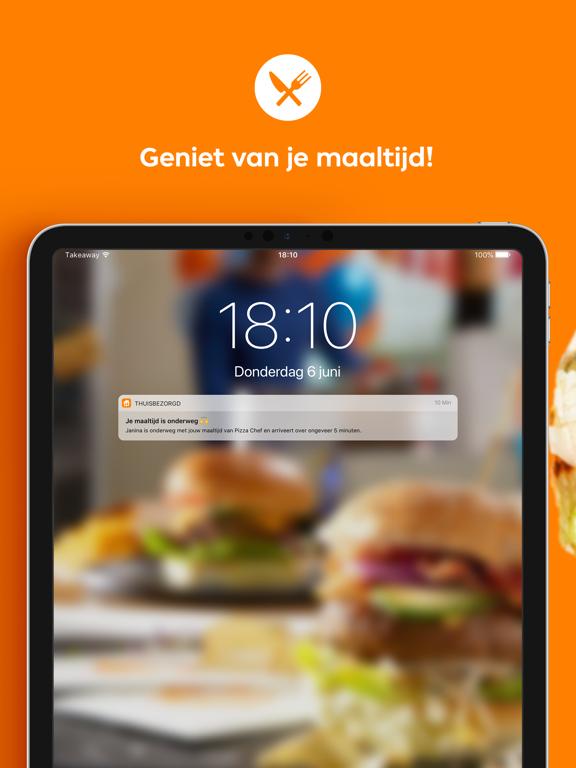 Thuisbezorgd.nl iPad app afbeelding 5