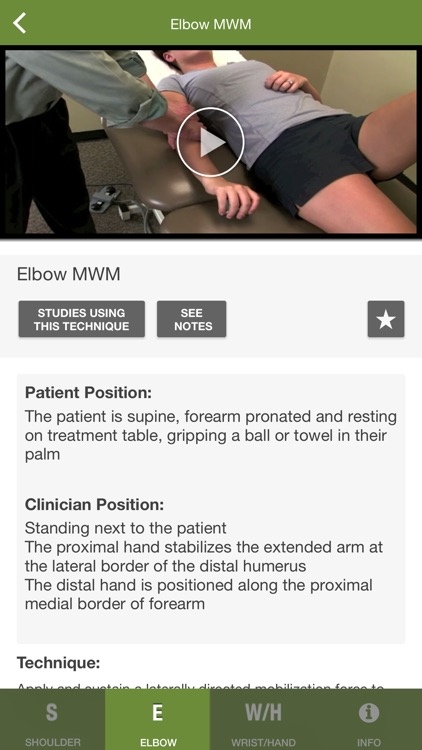 Mobile OMT Upper Extremity screenshot-0