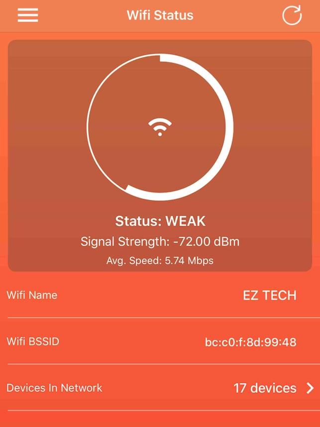 Wifi Status on the App Store