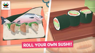 Toca Kitchen Sushi screenshot three