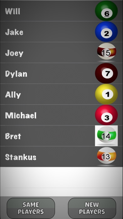 Screenshot for Kelly Pool Number Generator in Philippines App Store