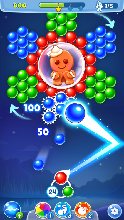 Bubble Shooter Ⓞ Pastry Pop screenshot-2