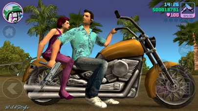 Grand Theft Auto: Vice City iphone ekran görüntüleri