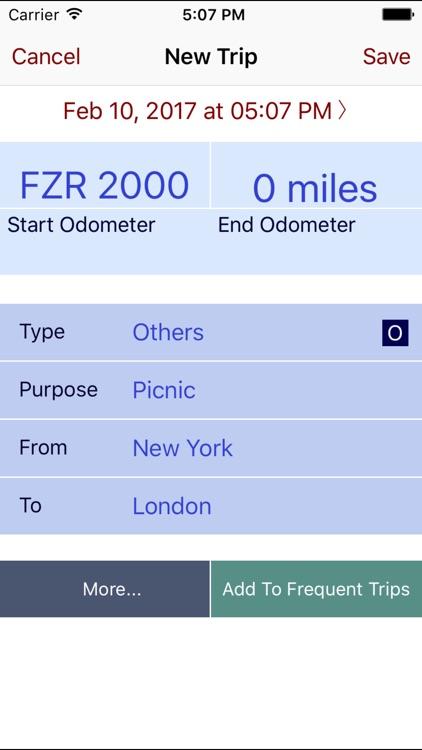 Trip Miles Plus screenshot-4