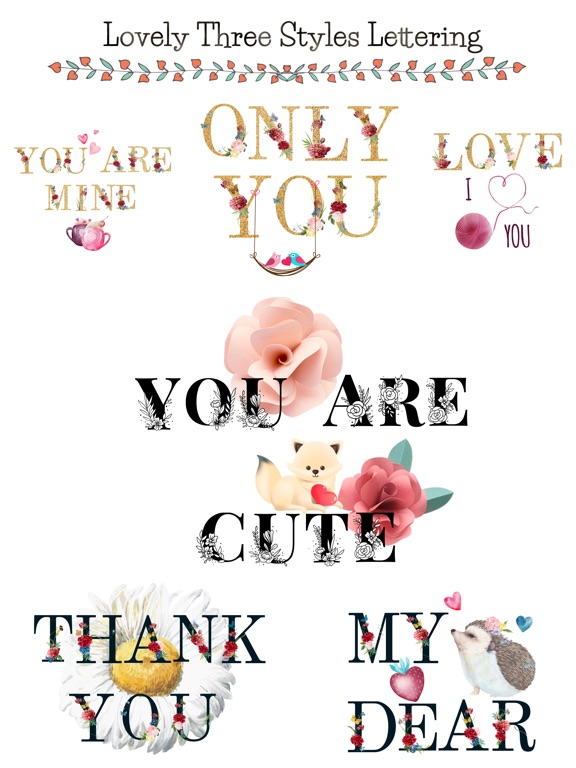 Valentine's Day Love Lettering screenshot 6