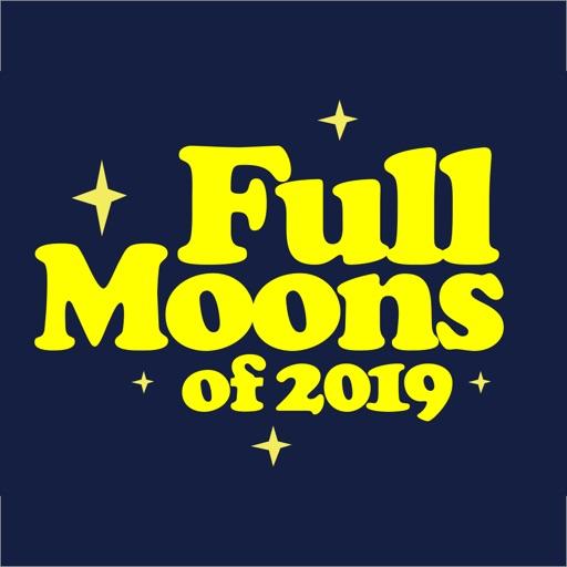 Full Moons of 2019