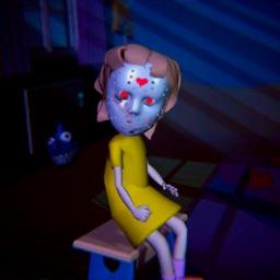 Scary Girl: Keep an eye on her