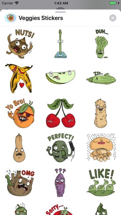 Veggies Stickers app image