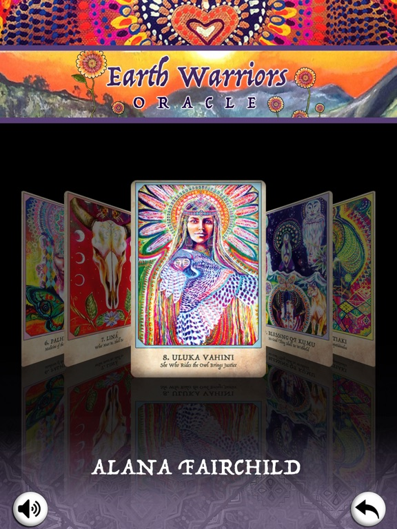 Earth Warriors Oracle Cards screenshot 14