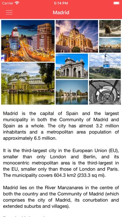 点击获取Madrid Offline City Guide