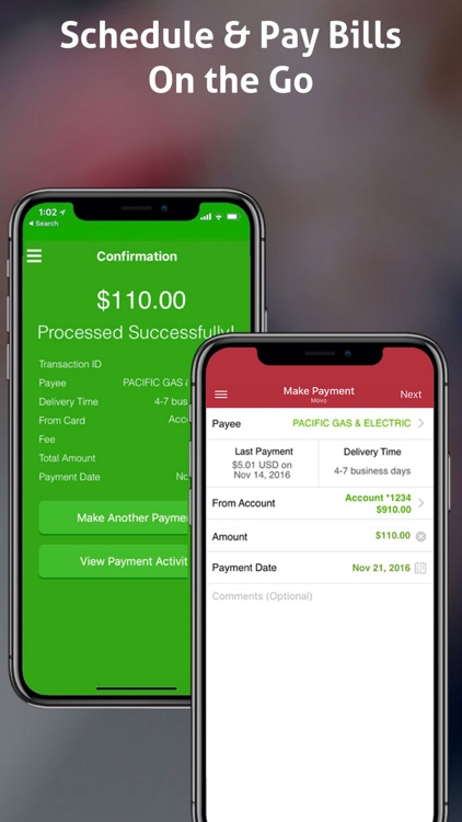MOVO - Mobile Cash & Payments screenshot-3