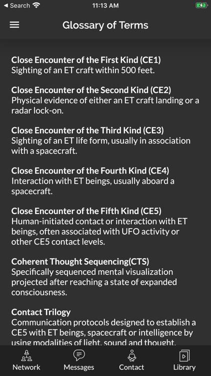 CE5 Contact screenshot-6