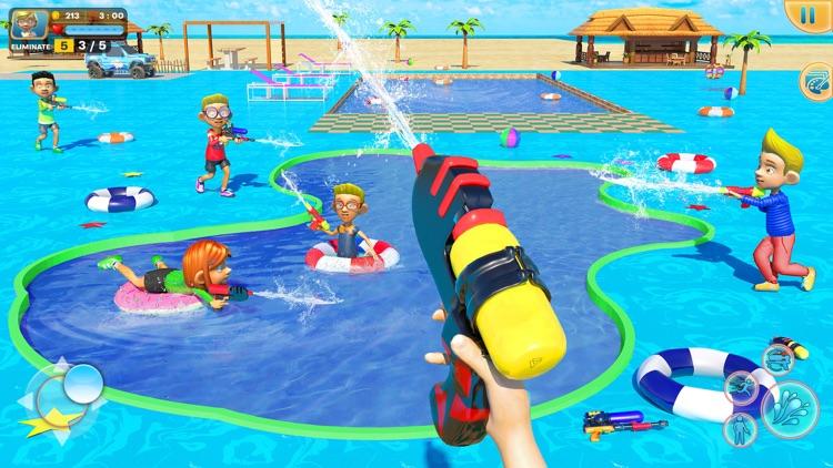 Water Shooting Pool Gun Arena