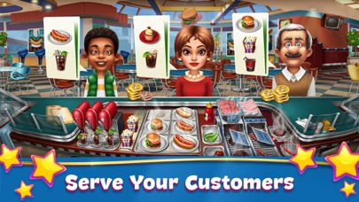 Screenshot from Cooking Fever: Restaurant Game