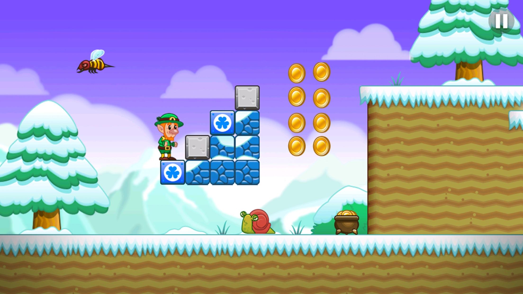 Lep's World - Jump n Run Games Screenshot