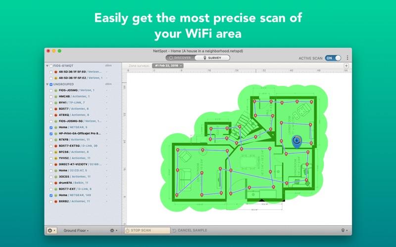 NetSpot PRO – Wi-Fi Reporter Screenshots
