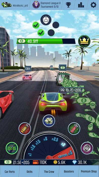 ニトロレーシングGO! 2018 クリッカー系レースゲームのおすすめ画像2
