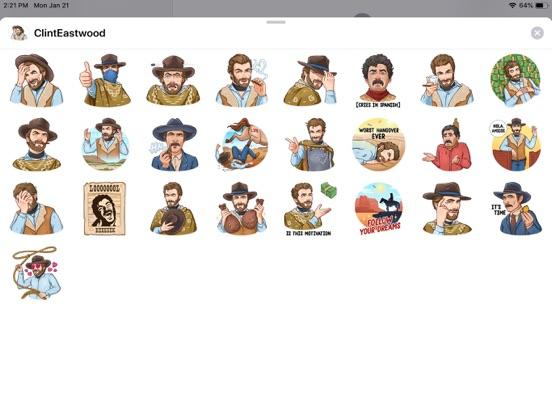 Cowboy Emoji Funny Stickers screenshot 3