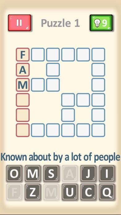 Crossword Puzzles... screenshot 2