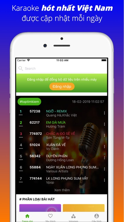 Karaoke Vietnam: Hat Karaoke screenshot-0