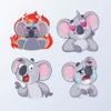 mohamed taoufik - KoalaMoji - Koala Stickers  artwork
