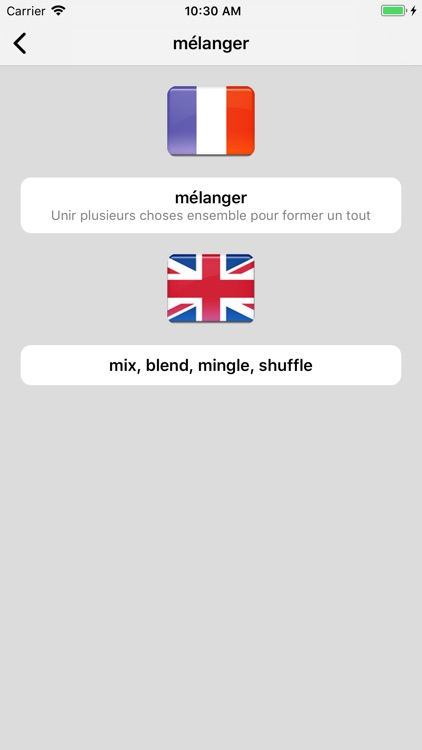 Dictionnaire Anglais-Français screenshot-3