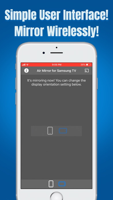 Air Mirror for Samsung TV app image