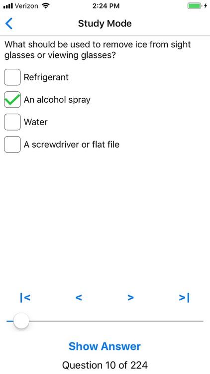 EPA 608 Practice screenshot-3