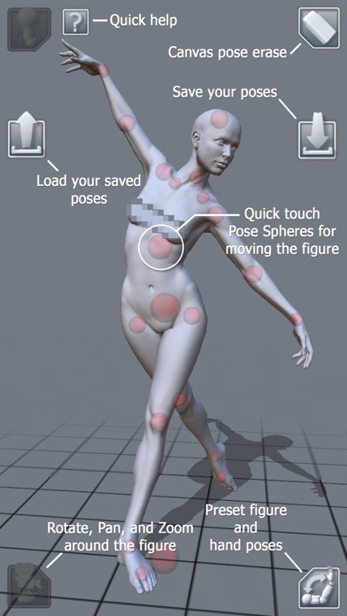 ArtPose Female Edition screenshot two