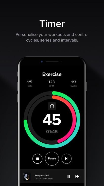 HIIT & Tabata: Fitness App screenshot-5