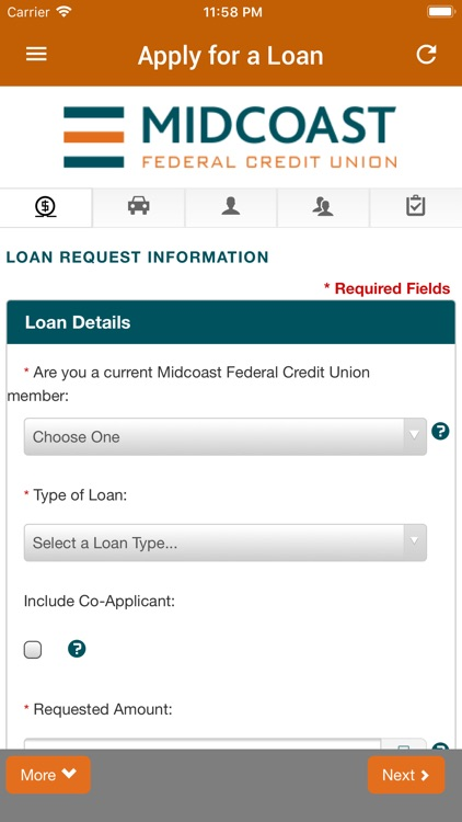 Midcoast FCU Mobile Banking screenshot-7